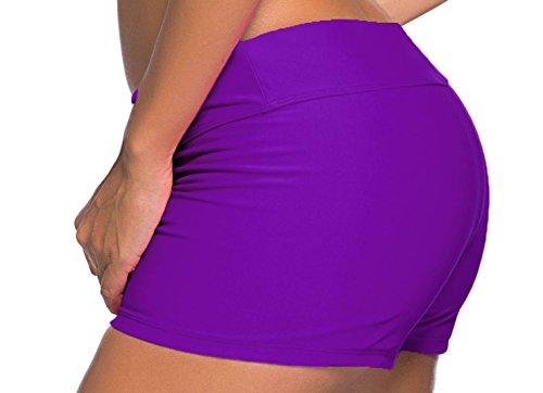 Vian Lundgaard - Shorts - para mujer morado