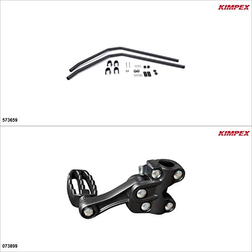 Kimpex – Fender Guards Kit – Black, Suzuki King Quad 500 2009-18
