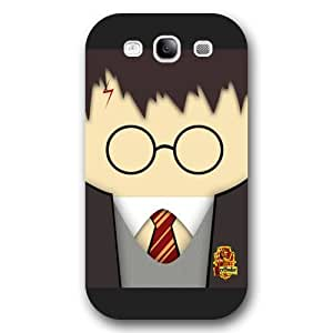 UniqueBox - Customized Personalized Black Frosted Samsung Galaxy S3 Case, Harry Potter Samsung Galaxy S3 case, Harry Potter Hogwarts Marauders Map Samsung Galaxy S3 case, Only fit Samsung Galaxy S3