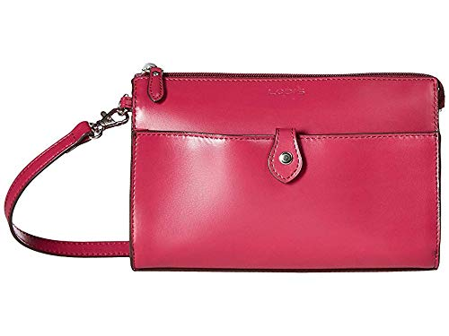 Lodis Accessories Women's Audrey RFID Vicky Convertible Crossbody Clutch Berry/Avocado One Size ()