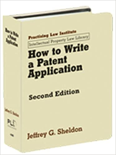 Advice for patent law application please!?