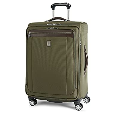 Travelpro Platinum Magna 2 25 Inch Express Spinner Suiter, Olive, One Size