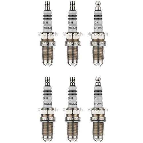 New Spark Plug (Set of 6) BOSCH # 4308 (Bosch Spark Plug Gap)