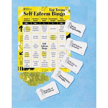 Self-Esteem Bingo for Teens Self Esteem Boosters