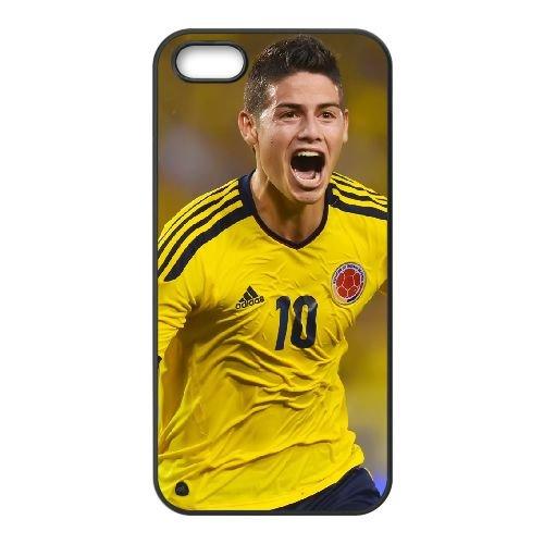 James Rodriguez 002 iPhone 5 5S Handyfall hülle schwarz Handy Fallabdeckung EOKXLLNCD24683