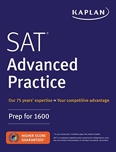 SAT Advanced Practice: Prep for 1600 (Kaplan Test Prep)