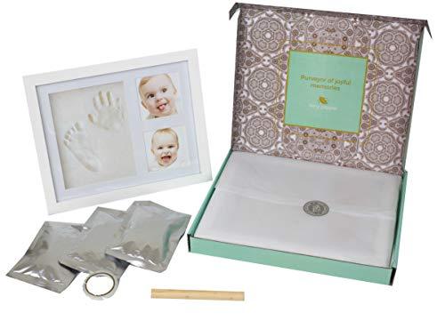 Very Pepper Clay Keepsake Handprint&Footprint Photo Frame Kit-Unique