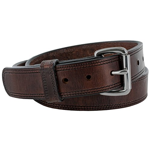 Hanks A2950 1.5 inch Amish Old World Belt 16oz Rich - Brown - 38