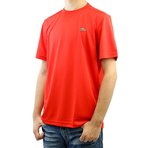 Lacoste-Ultra-Dry-Solid-Athletic-T-Shirt-Tee-Mens