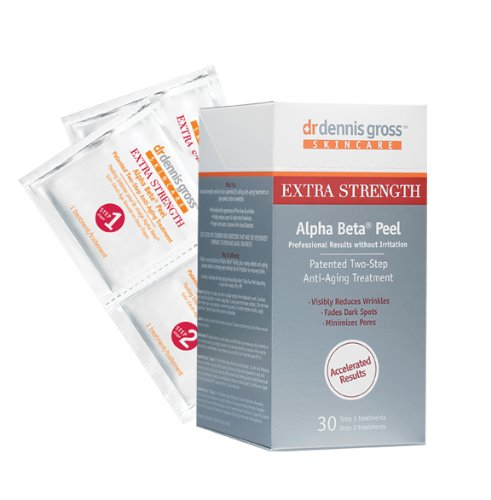 Dr. Dennis Gross Extra Fort Alpha Beta visage Peel, 30 Count