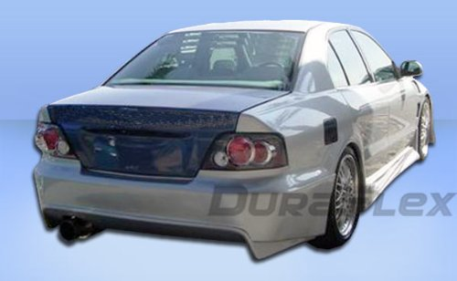 Duraflex Replacement for 1999-2003 Mitsubishi Galant Cyber 2 Rear Bumper Cover - 1 Piece ()