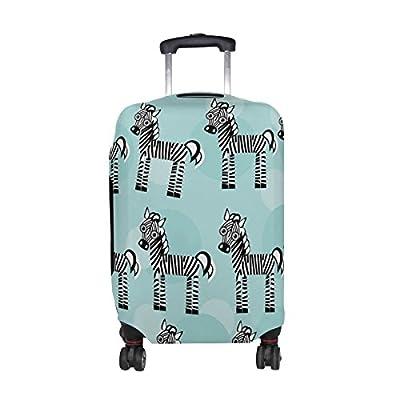 a7011834539e cheap DEYYA Zebra Spandex Travel Luggage Cover Baggage Suitcase ...
