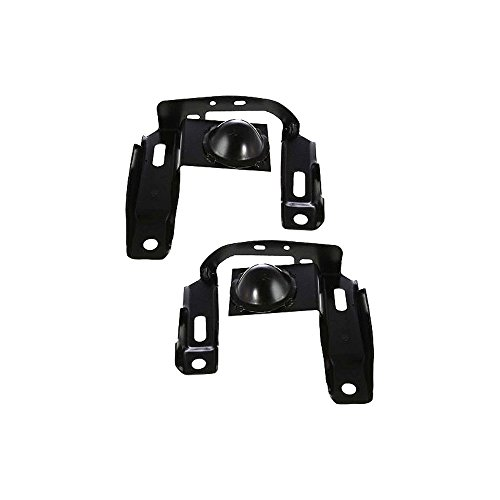Bumper Bracket compatible with Ford Ranger 98-00 Front Right and Left Side Set of 2 Steel