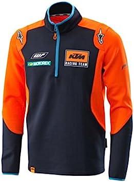 KTM Replica Blue Orange Team Motorcycle Thin Sweater New