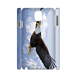 case Of Eagle 3D Bumper Plastic customized case For samsung galaxy note 3 N9000