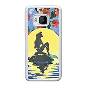 HTC One M9 Cell Phone Case White Disney the little mermaid Ariel ST1YL6717617