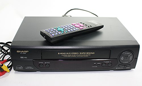 sharp vcr player - 2