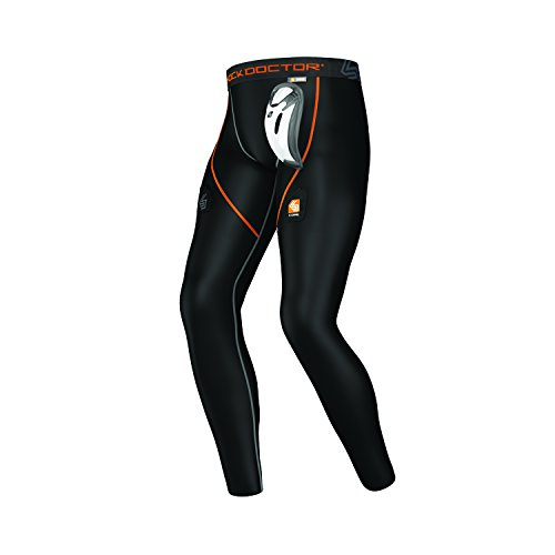 Shock Doctor Men's Core Hockey Pant with Bio-Flex Cup, Medium - Shock Big Body