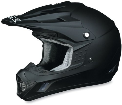 - AFX FX-17 Solid Helmet , Size: XL, Primary Color: Black, Helmet Type: Offroad Helmets, Helmet Category: Offroad, Distinct Name: Flat Black, Gender: Mens/Unisex 01101754