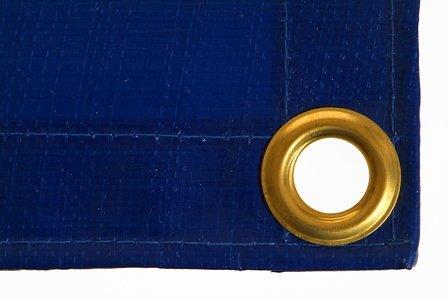 Abdeckplane 6 x 10 m, 250 g/qm, blau, extra stark