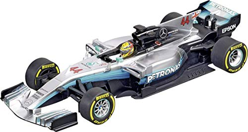 (Carrera 20030840 30840 Mercedes-Benz F1 W08 L. Hamilton No. 44 1: 32 Scale Digital 132 Slot Car Racing Vehicle, Gray )