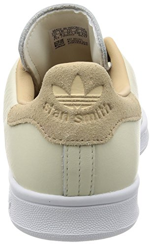 adidas Damen Stan Smith Sneaker Elfenbein (Off White/off White/st Pale Nude)