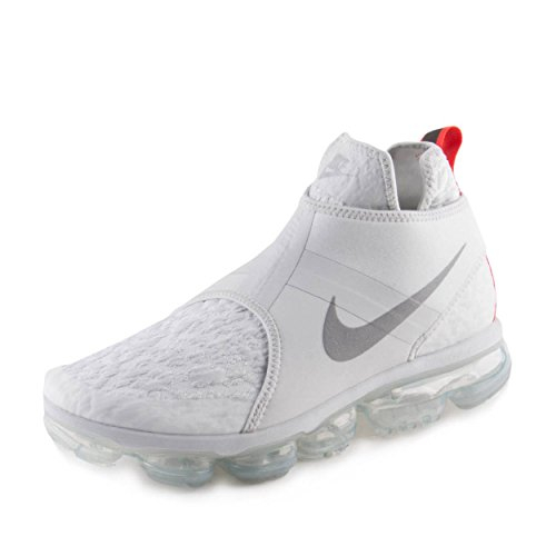 NIKE Mens Air Vapormax Chukka Slip Pure Platinum/Silver Neoprene Size 7.5 Review
