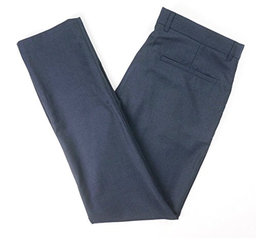Hugo Boss New RED Label Navy HELDOR 1 Virgin Wool Extra Slim Dress Pants SZ 34