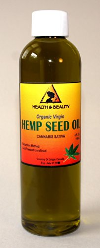 Hemp-Seed-Oil-Unrefined-Organic-Virgin-Carrier-Cold-Pressed-Pure-4-oz
