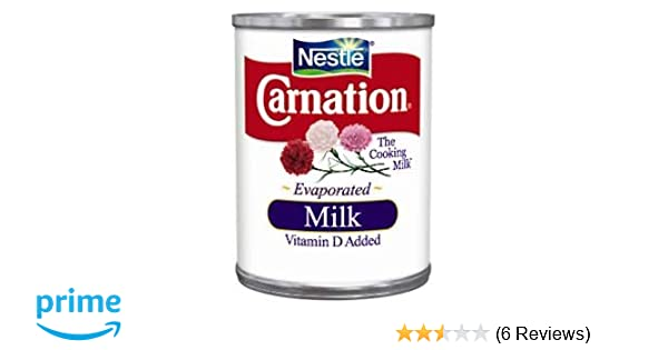 Amazon.com : CARNATION EVAPORATED MILK CANNED 12 OZ EACH (1) : Grocery & Gourmet Food
