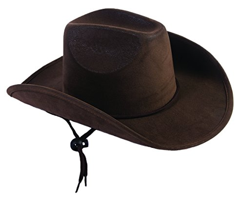 Child Cowboy Hat (Wild West Cowboy Children's Hat Accessory - Brown)