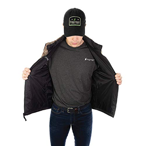 Frogg Toggs Co-Pilot Insulated Vest, Water-Resistant, Large, Black