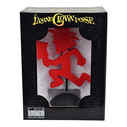 "Insane Clown Posse Collectible: 2006 SOTA TOYS ICP Hatchetman 3.5"" Statue"