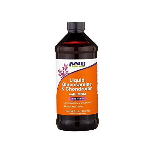 NowFoods Liquid Glucosamine & Chondroitin With Msm, 16 Ounce