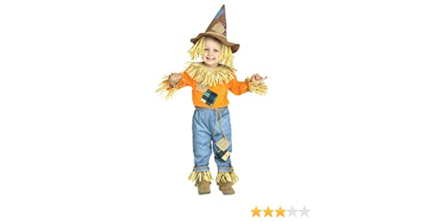 Horror-Shop Pequeño espantapájaros Disfraz de niño 3-4 Jahre ...