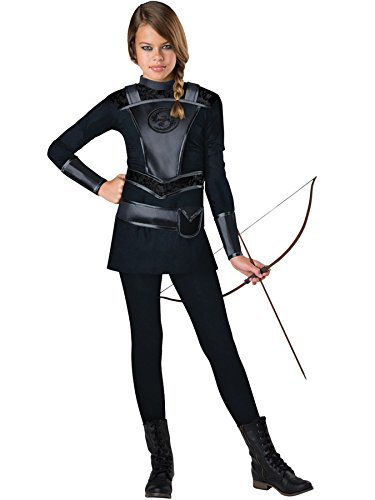 Ultimate Warrior Fancy Dress Costumes - UHC Girl's Warrior Huntress Outfit Fancy Dress Tween Halloween Costume, Tween M (10-12)