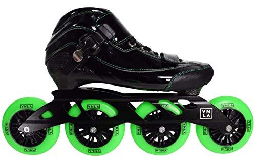 VNLA Loco Verde Inline Skates (Mens 10/Ladies - Carbon Vanilla Skates Speed