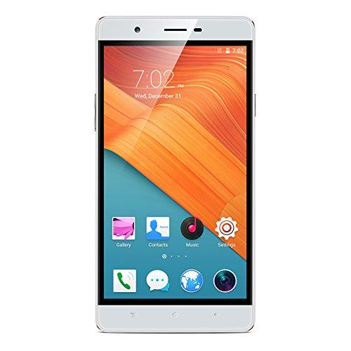 Padgene New 6'' Android 5.1 Unlocked Smartphone, Quad Core, 512MB + 8G, Dual Sim, Dual Camera, 2G / 3G GSM HD Smartphone, White by Padgene