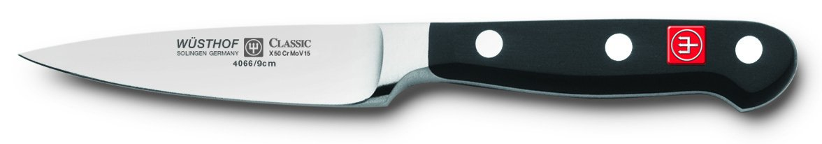 Wusthof Classic High Carbon Steel Knife Paring Knife, 3.5 inch