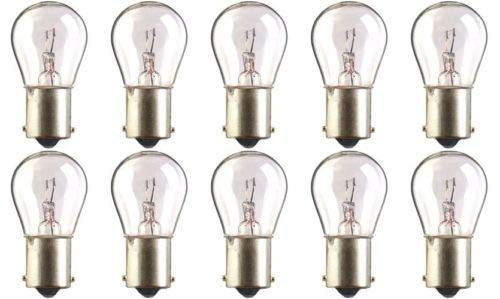 CEC Industries #7527 Bulbs, 12 V, 18 W, BA15s Base, S-8 shape (Box of 10)