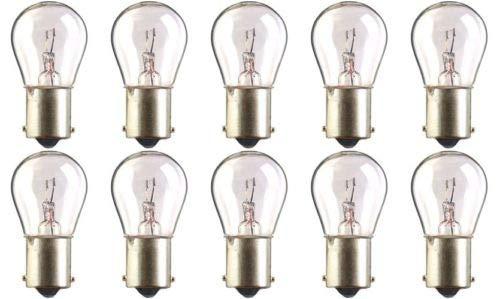 (CEC Industries #7527 Bulbs, 12 V, 18 W, BA15s Base, S-8 shape (Box of 10))