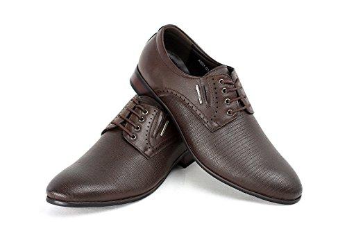 Moda para hombre Italiano Vestido Zapatos Café
