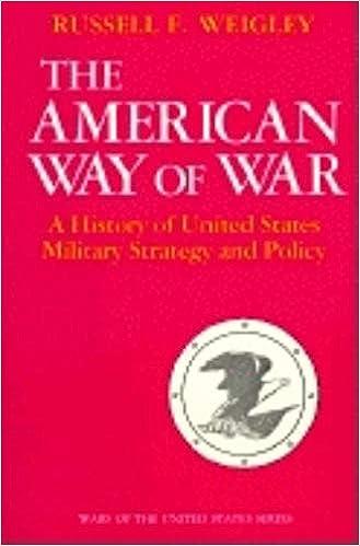 interpret and analyze the american way of war