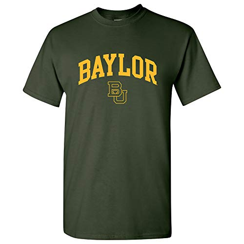 - UGP Campus Apparel Baylor Bears Arch Logo T-Shirt - Small - Forest Green