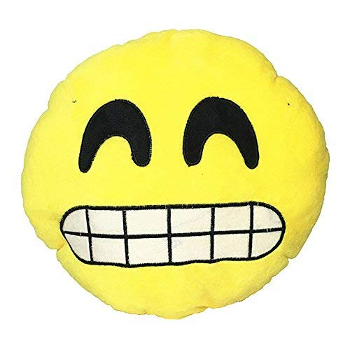 Martinad Cojín 30 Cm Almohada Emoji Casual Chic Smiley ...