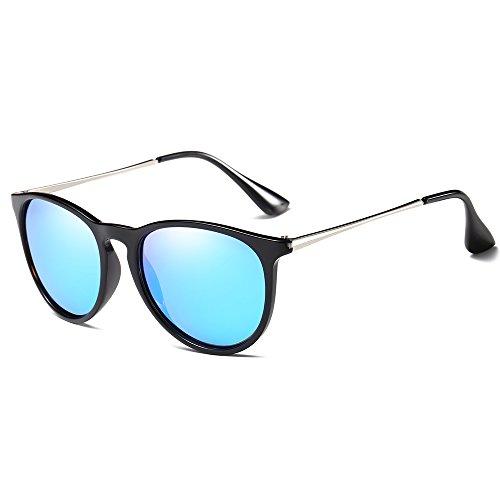 Morpho Diana MS4171 Women's Erika Polarized Sunglasses (blue, - Card Sunglasses Warehouse Gift
