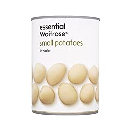 New Potatoes in Water Freshcan/essential Waitrose 560g - Pack of 6