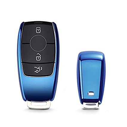KAKTUS MB Funda de protecci/ón para Llave de Coche Smart Key de Mercedes-Benz S/ólo versi/ón sin Llave//versi/ón Keyless Go