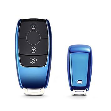 KAKTUS Funda de Protección para Llave de Coche para Mercedes Benz (Sólo versión sin Llave/versión Keyless Go) - B