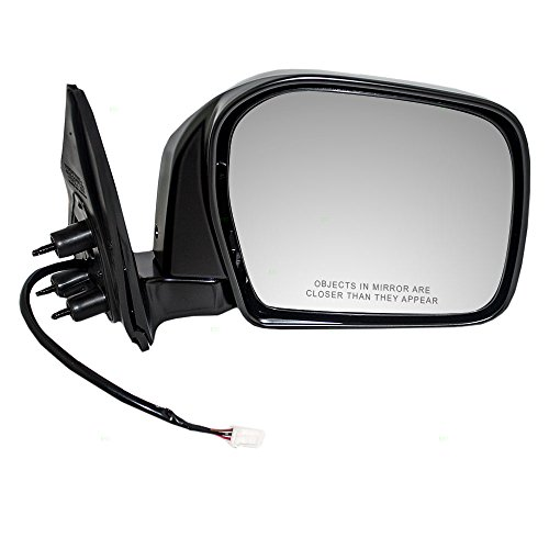 - Passengers Power Side View Mirror Ready-to-Paint Replacement for Toyota Pickup Truck 87910-35580